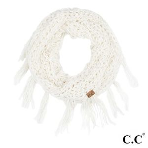 NWT Ivory Chenille Infinity Scarf FLASH SALE!!